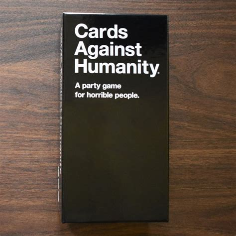 For humanism, democracy and freedom. Cards Against Humanity Review: A Cringeworthy Modern Classic
