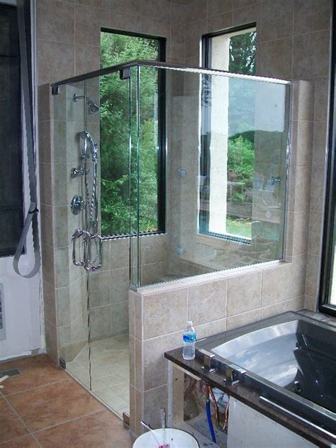 glass shower enclosuser shower doors richmond va