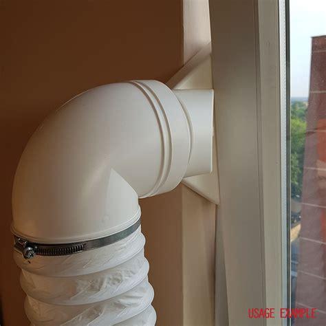 warm air exhaust kit mm diameter  metres dryer hose warm air portable ac