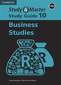 Study  U0026 Master Study Guide Business Studies Grade 10  Caps