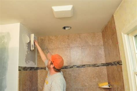 Bathroom Wall Construction Materials by How To Tile A Bathroom Shower Walls Floor Materials