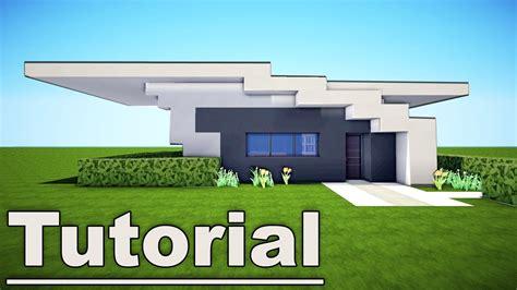 minecraft small easy modern house tutorial   pc xbox