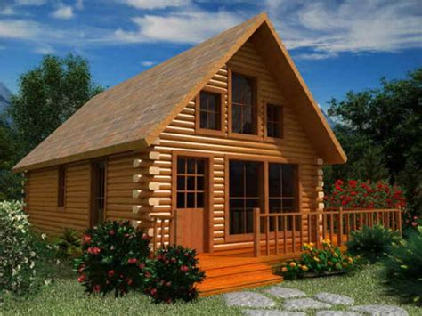 Big Log Cabins Small Log Cabin Floor Plans with Loft