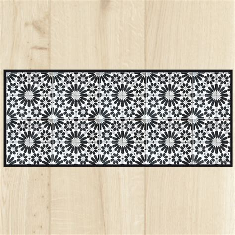 tapis de cuisine gris tapis de cuisine carreaux gris