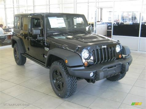Black 2018 Jeep Wrangler Unlimited Call Of Duty Mw3