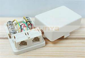 Rj11 Waterproof Telephone Distribution Box Telephone Cable