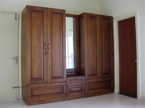 Wooden Wardrobe For Bedroom by Furniture Vintage Wooden Wardrobe Armoire With Rectangle