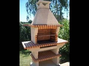 Barbecue En Dur : barbecue en brique prix de usine en toutes nos barbecues ~ Melissatoandfro.com Idées de Décoration