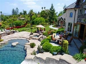 conseils pour amenager un jardin avec piscine With amenager son jardin pas cher