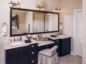 double sink bathroom vanity with makeup area home design