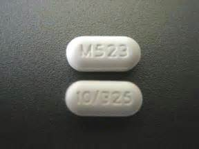 Percocet Oxycodone 10 325