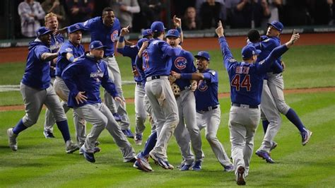 Chicago Cubs Win The World Series (all You Need Is