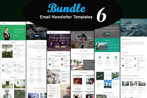 Free Email Marketing Templates by Email Newsletter Templates Collection Free