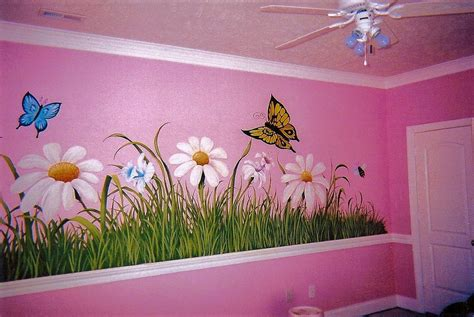 dekorasi lukisan kamar tidur anak gambar rumah idaman