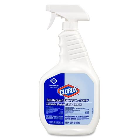 clorox disinfecting bathroom cleaner spray printer