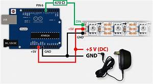 Powering Neopixels And Arduino Board From One Adapter