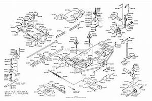 Dixon Ztr 6025  2001  Parts Diagram For Mower Deck 60 U0026quot