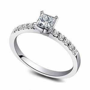 inexpensive 050 carat princess diamond engagement ring on With reasonable diamond wedding rings