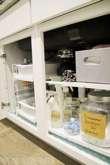 organize kitchen sink top ten organization solutions pins and procrastination 3781