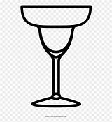 Margarita Glass Clipart Coloring Icon Clip Pages Pinclipart Report Library sketch template