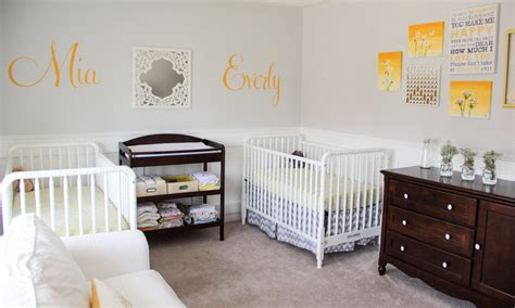 Sunny Twins Nursery And Names Reveal!