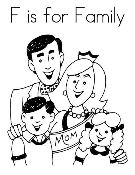 top   printable family coloring pages  fun