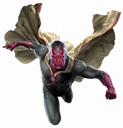 Clipart Marvels Vision Avengers
