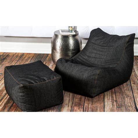 Jaxx Bean Bag Chair Cover by Denim Bean Bag Chair Ottoman Jaxx Denim Touch Of Modern