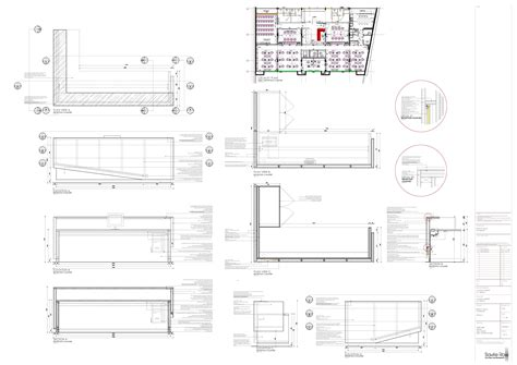 build reception desk construction drawings  plans