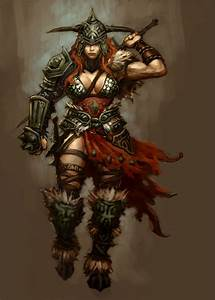 Diablo III's Female Barbarian Is Rather Well-Armoured ...