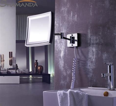 Modern Chrome Bathroom Mirrors by Free Shipping Modern Bathroom Products Solid Brass Chrome