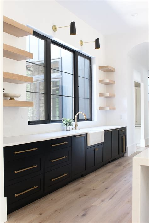 The matte finish brings a hint of modernity to the kitchen, without causing it to feel. Our New Modern Kitchen: The Big Reveal! - The House of ...