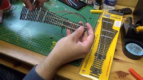 electrofrog point wiring youtube