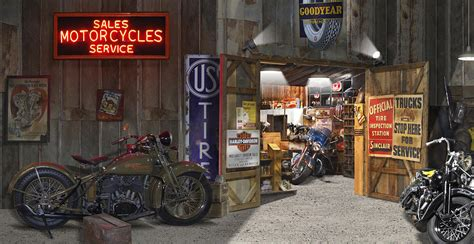 outside the motorcycle shop photograph by mike mcglothlen