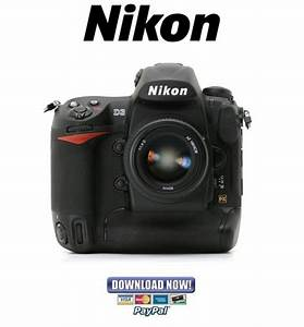 Nikon D3 Service Manual  U0026 Repair Guide   Parts List