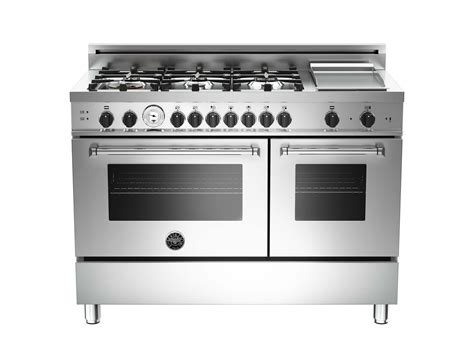 burner griddle gas double oven bertazzoni
