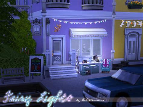 fairy lights  waterwoman  akisima sims  updates