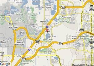 Map of Grand Beach Resort, Orlando