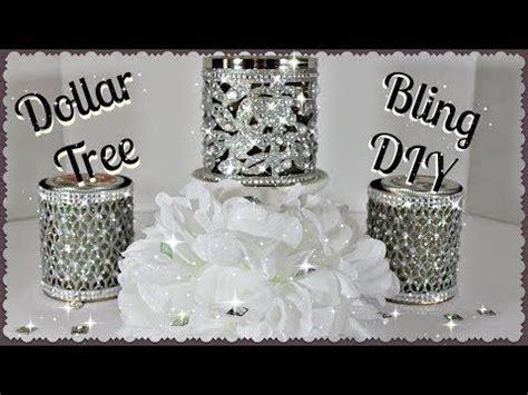 Diy Dollar Tree Glam Decor Stands Dollar Store Diy Candle