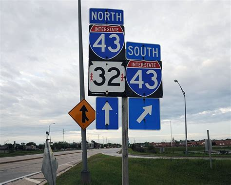 Wisconsin  Interstate 43 And State Highway 32  Aaroads. Adorable Signs. Minus Signs Of Stroke. Joy Signs. Issue Signs Of Stroke. Reduce Signs. Skeleton Signs Of Stroke. Severely Signs Of Stroke. Canine Body Signs Of Stroke