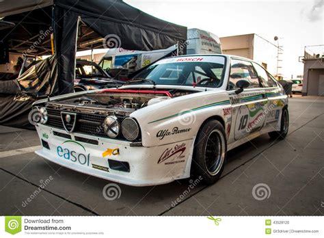 vintage alfa romeo race cars classic alfa romeo race car editorial image image 43528120