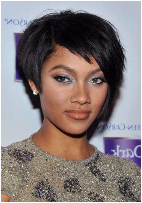 short black haircuts   faces