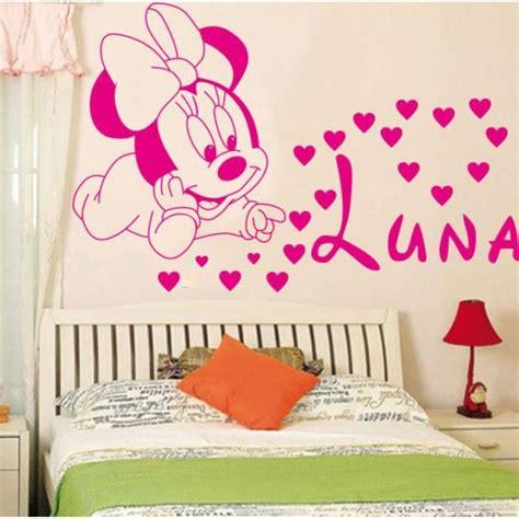chambre bébé minnie décoration loisirs créatifs mignon mickey minnie bébé
