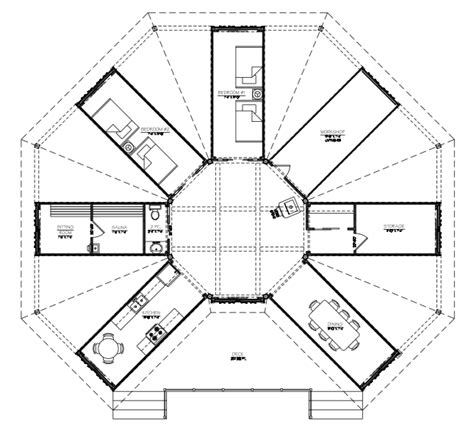 Shipping Container Cabin Floor Plans by Project Octopod Shipping Container Cabin Sea Container