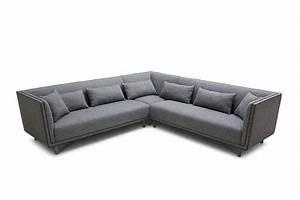 Gray Sectional Sofa; Smileydot us