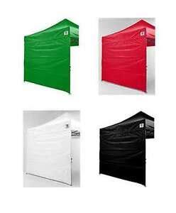 impact ez pop  canopy sidewalls    tent  canopies walls zipper ebay