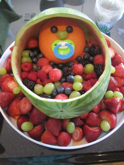 40 Best Baby Shower Fruit Tray Ideas Images On Pinterest
