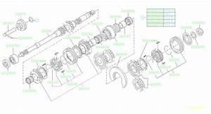 32614aa052 - Ring-baulk  Shaft  Main  Exc