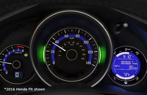 honda dashboard warning lights