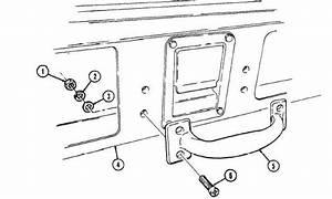 Cargo Shell Door Grab Handle Replacement